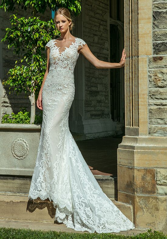 Calla Blanche 18130(D) Alison Sheath Wedding Dress