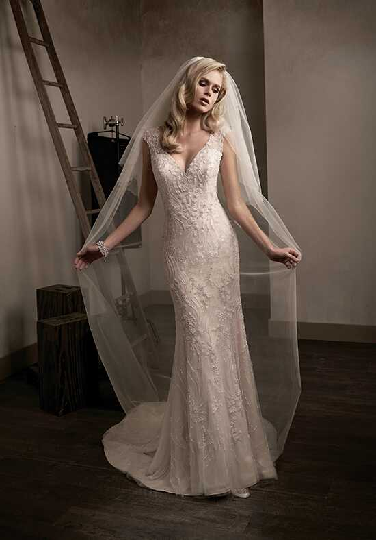Jasmine Couture T192014 Sheath Wedding Dress