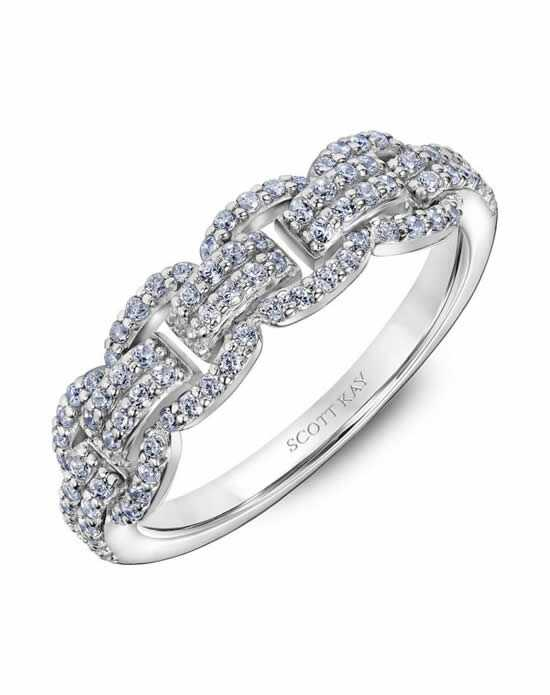 Scott Kay 31-SK6034W-L Platinum Wedding Ring