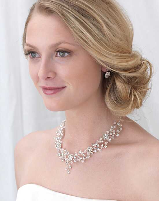 USABride Blossom Swarovski Crystal Jewelry Set JS-1665 Wedding Necklaces photo