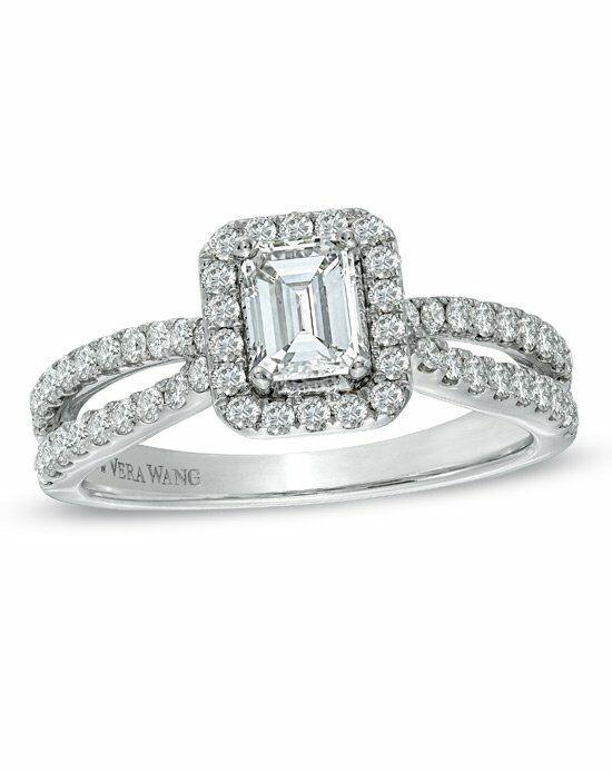 vera wang love at zales vera wang love collection 1 ct tw emerald - Zales Wedding Ring
