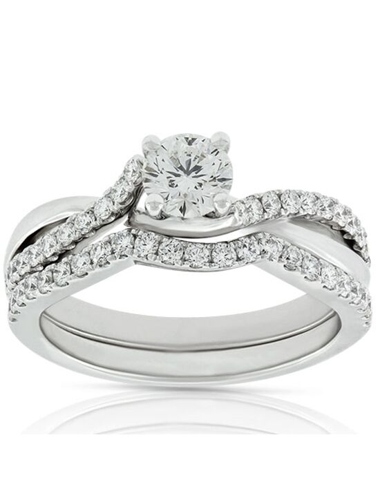 Ben Bridge Jeweler Unique Round Cut Engagement Ring