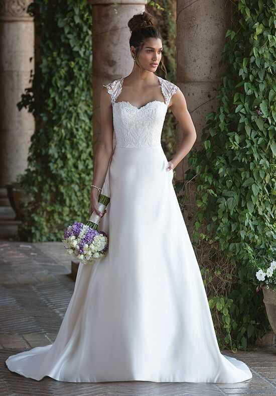 Sincerity Bridal 4001 A-Line Wedding Dress