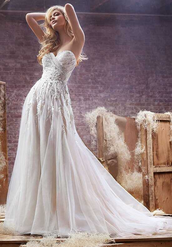 Hayley Paige 6412 - Star A-Line Wedding Dress