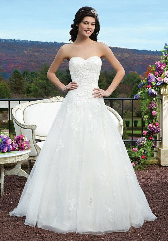 Sincerity Bridal 3801 A-Line Wedding Dress