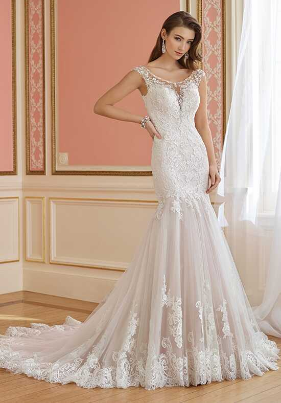 David Tutera for Mon Cheri 217218 Margaret Mermaid Wedding Dress