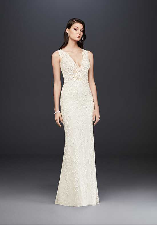 David's Bridal David's Bridal Collection Style SWG772 Sheath Wedding Dress