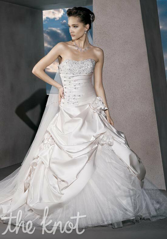 Demetrios 4295 A-Line Wedding Dress
