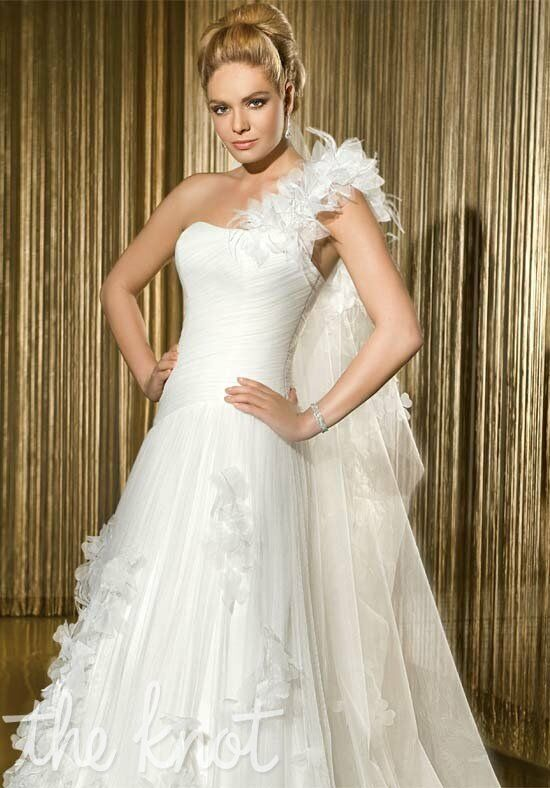 Demetrios 1420 A-Line Wedding Dress