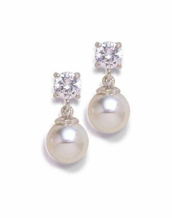 Anna Bellagio YVONNE PEARL DROP EARRINGS Wedding Earring photo