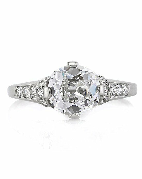 Mark Broumand Vintage Cut Engagement Ring