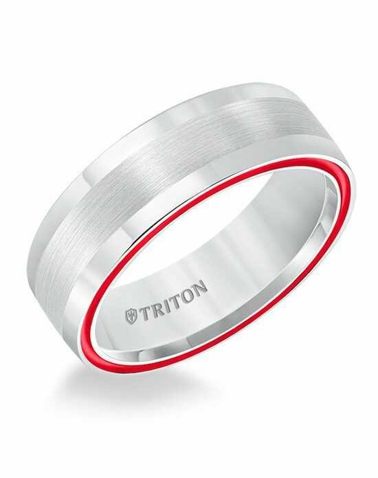 Triton 11-5621THE-G Tungsten Wedding Ring