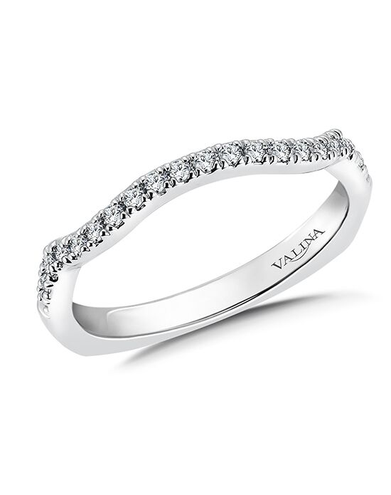 Valina R9678BW White Gold Wedding Ring