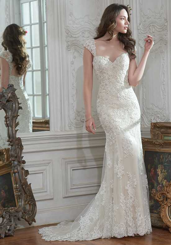 Maggie Sottero Brigitte Sheath Wedding Dress