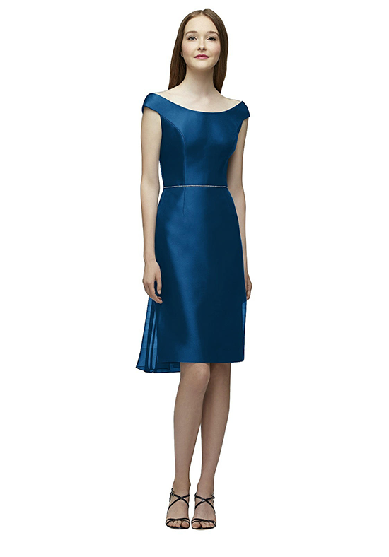 Lela Rose Bridesmaids LR231 Bateau Bridesmaid Dress