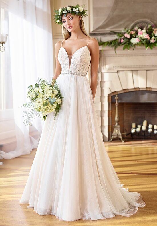 Enchanting by Mon Cheri 218173 A-Line Wedding Dress