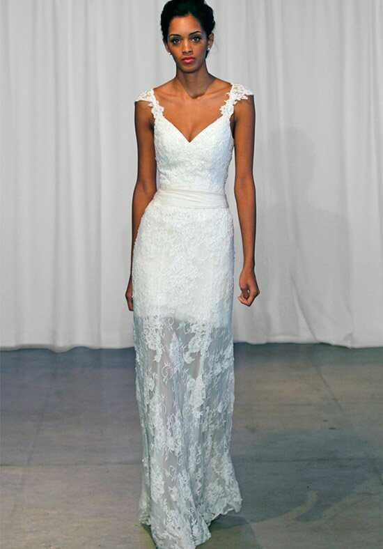 Kelly Faetanini Georgina Sheath Wedding Dress