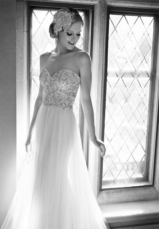 martina liana 646 sheath wedding dress