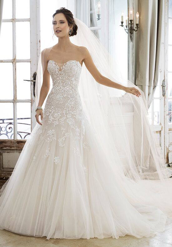 Sophia tolli y11866 adonia wedding dress the knot for Website for wedding dresses