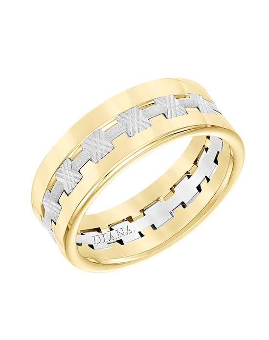 Diana 11-N8737YW75-G.00 Gold Wedding Ring