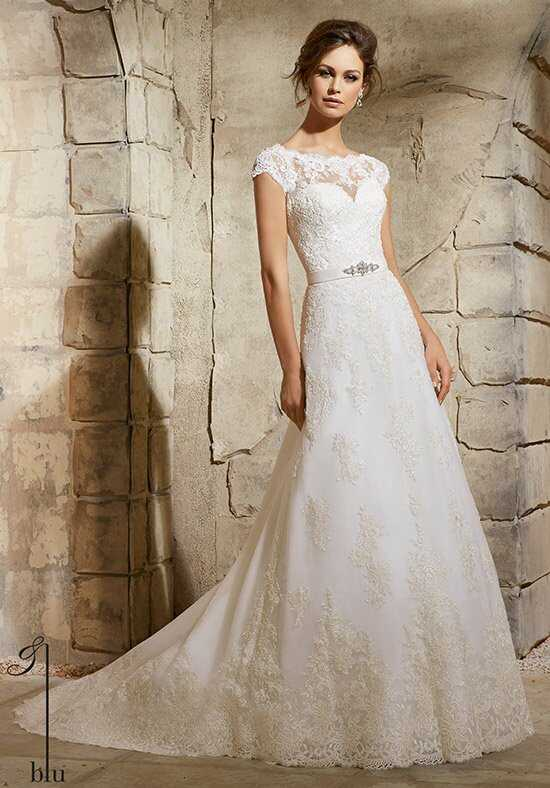 Morilee by Madeline Gardner/Blu 5370 A-Line Wedding Dress