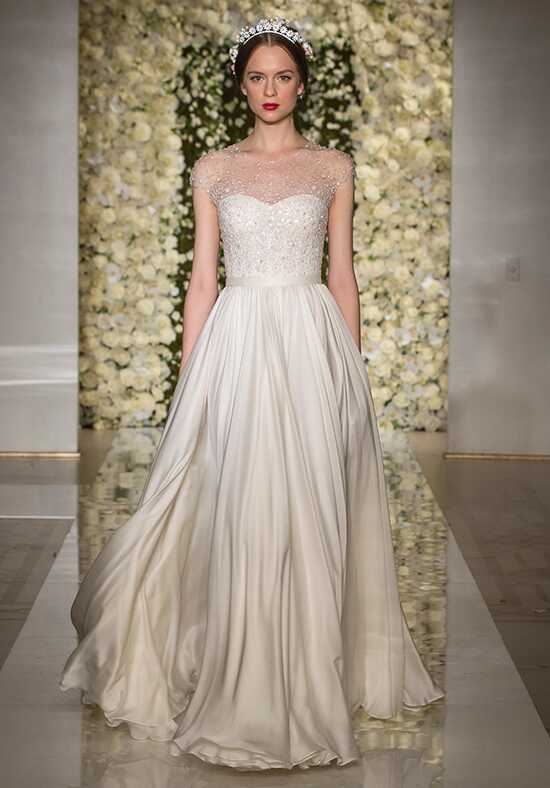 Reem Acra 5250 A-Line Wedding Dress