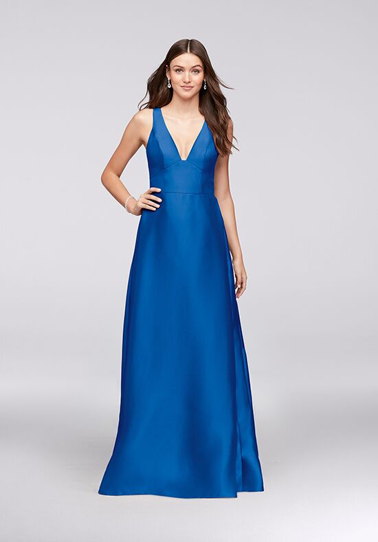 David's Bridal Collection David's Bridal Style F19734 V-Neck Bridesmaid Dress