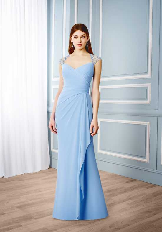 Val Stefani Celebrations MB7534 Blue Mother Of The Bride Dress