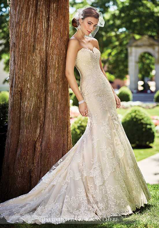David Tutera for Mon Cheri 117272 Gregoria Mermaid Wedding Dress