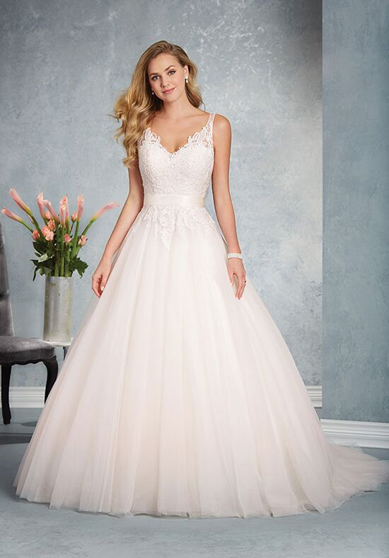 Alfred Angelo Signature Bridal Collection 2624 A-Line Wedding Dress