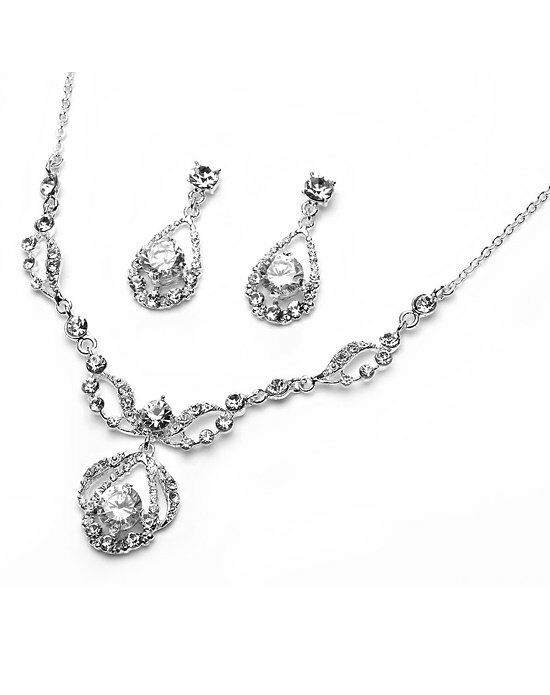 USABride Pure Sparkle Jewelry Set JS-600 Wedding Necklace photo