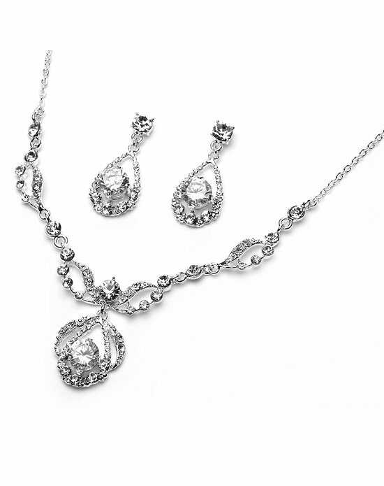 USABride Pure Sparkle Jewelry Set JS-600 Wedding Necklaces photo