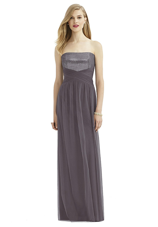 After Six 6743 Strapless Bridesmaid Dress