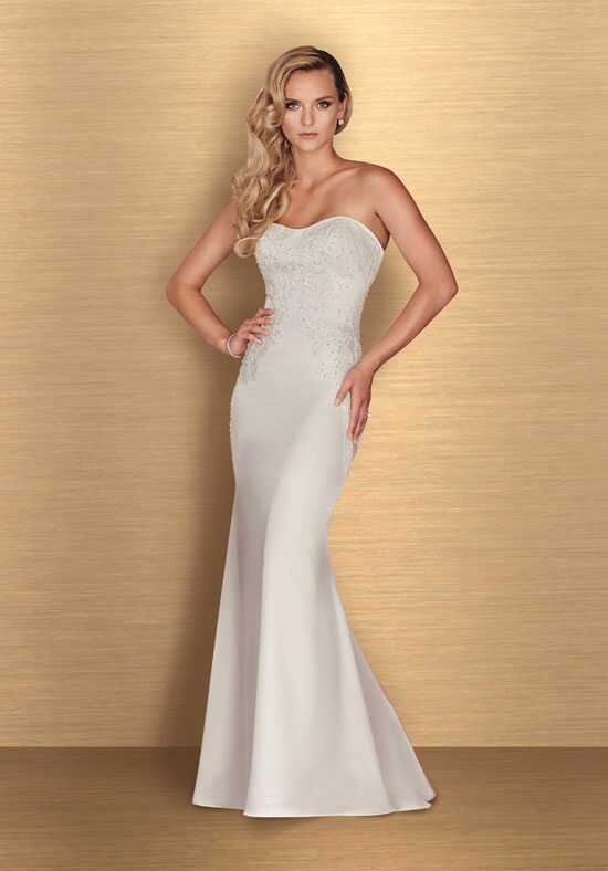 Paloma Blanca 4660 Sheath Wedding Dress