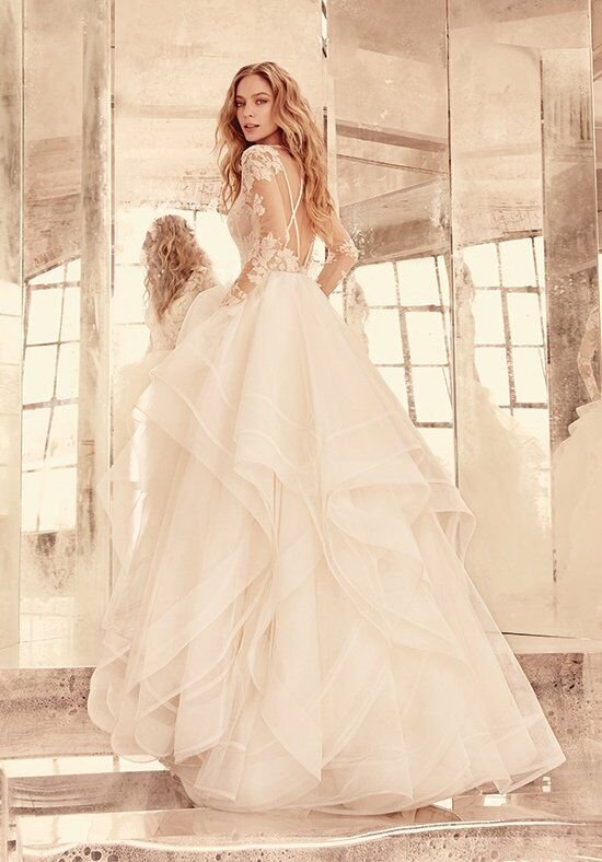 Hayley Paige Elysia Style 6556 Ball Gown Wedding Dress
