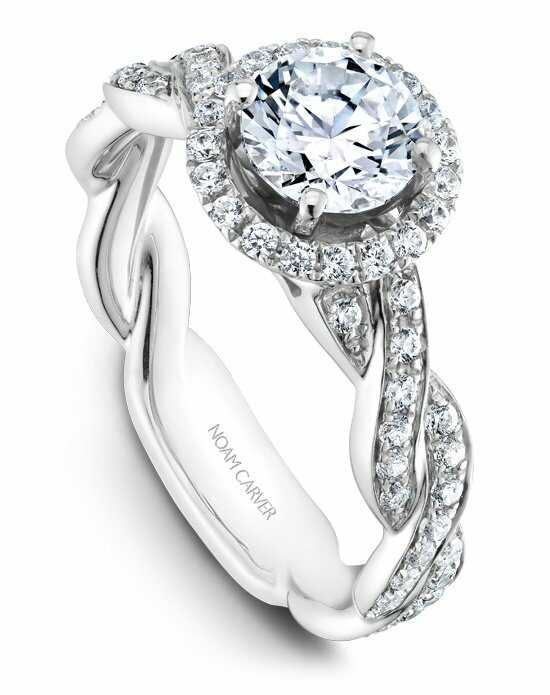 Noam Carver B060-01WS-100A Engagement Ring photo