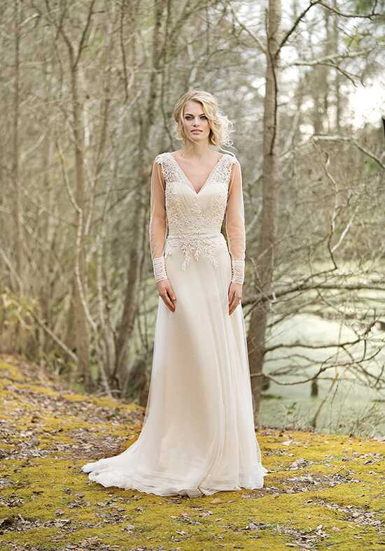 Lillian West 6453 A-Line Wedding Dress
