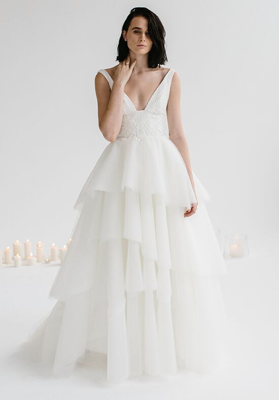 KAREN WILLIS HOLMES Rosaline & Marina A-Line Wedding Dress