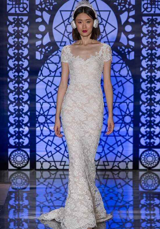 Reem Acra Brigitte A-Line Wedding Dress