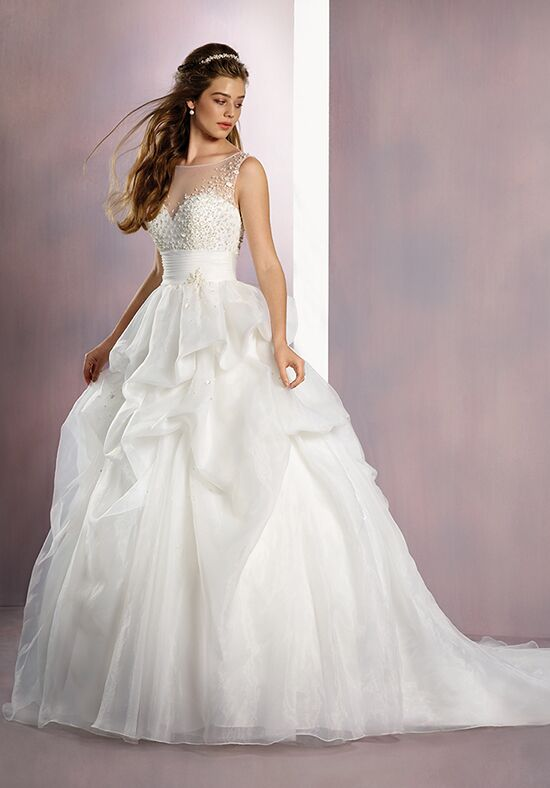 Alfred Angelo Disney Fairy Tale Weddings Bridal Collection 260 Sleeping Beauty Ball Gown Wedding Dress