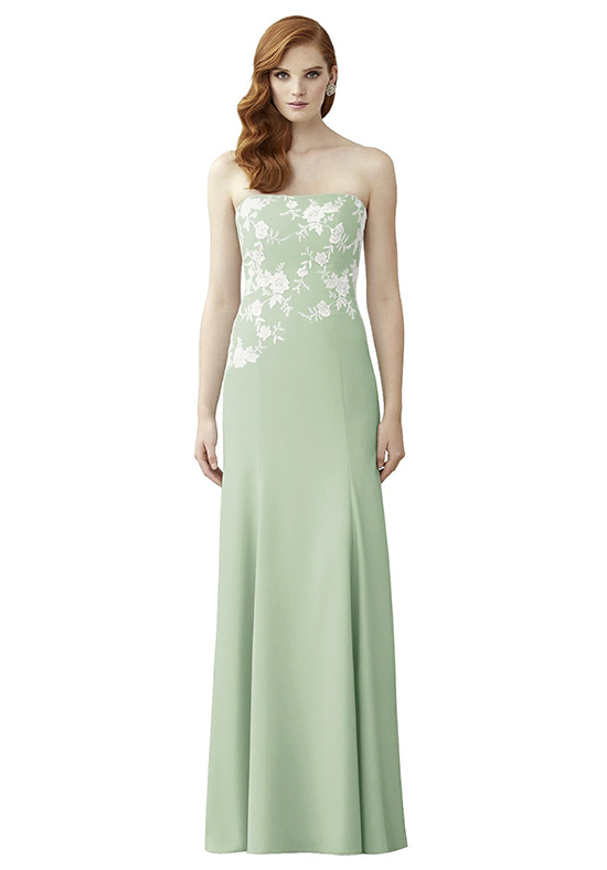 Dessy Collection 2965 Strapless Bridesmaid Dress