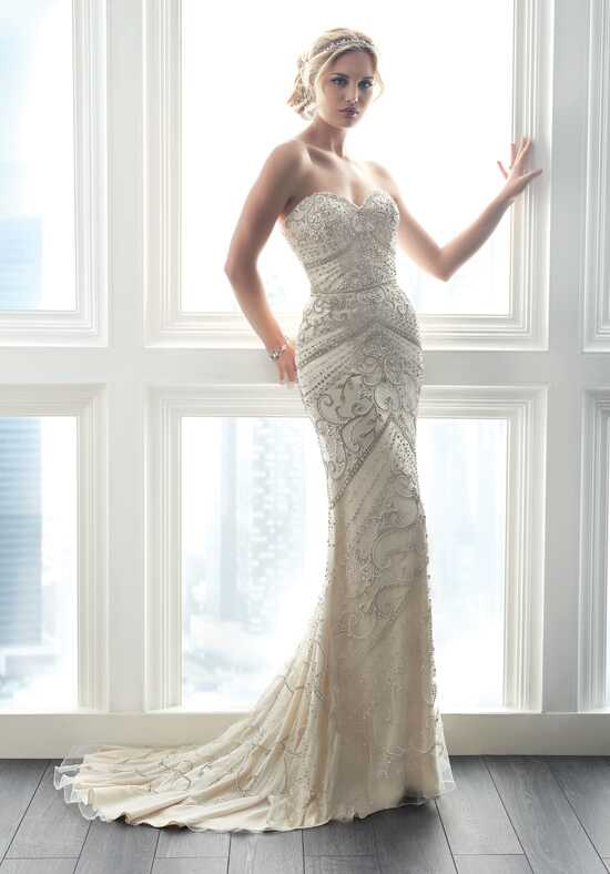 Christina Wu Brides 15615 Sheath Wedding Dress