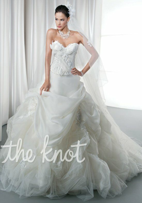 Demetrios 2864 Ball Gown Wedding Dress