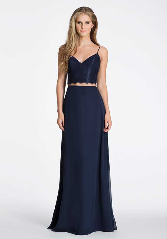 Hayley Paige Occasions 5601 V-Neck Bridesmaid Dress