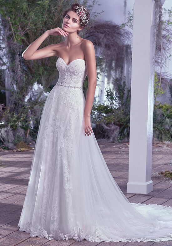 Maggie Sottero Mirelle Sheath Wedding Dress