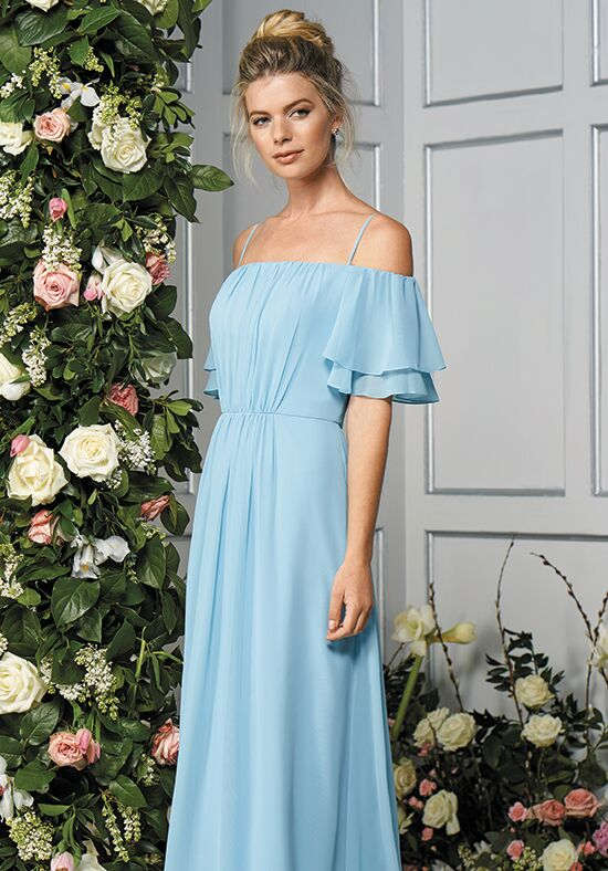 B2 by Jasmine B193056 Off the Shoulder Bridesmaid Dress