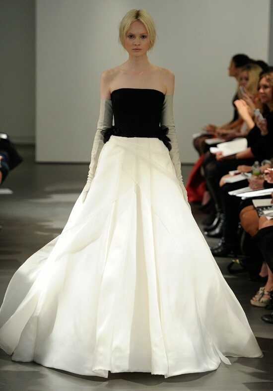 Vera Wang Spring 2014 Look 15 Ball Gown Wedding Dress
