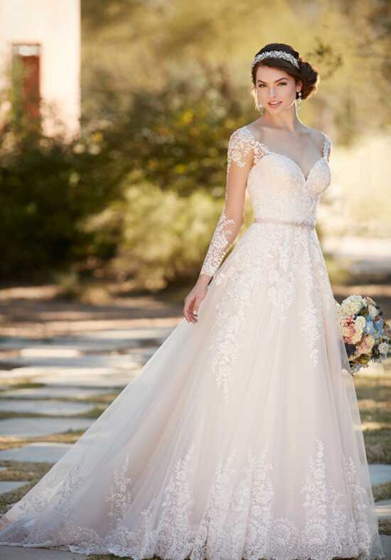 Essense of Australia D2145 A-Line Wedding Dress