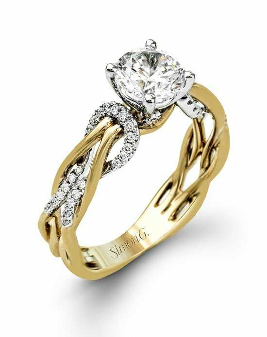 Simon G. Jewelry MR2514 Engagement Ring photo