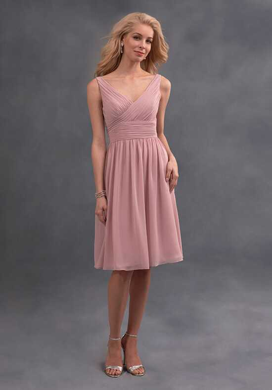 Alfred Angelo Signature Bridesmaids Collection 7394S V-Neck Bridesmaid Dress